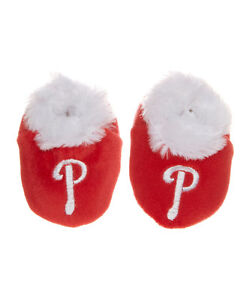 Philadelphia Phillies Slippers (size 3-6 months) NWT