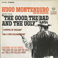 HUGO MONTENEGRO MUSIC FROM THE GOOD THE BAD AND THE UGLY LP MORRICONE RCA GERMAN