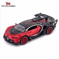 Red Bugatti Veyron GT Car Model 1/32 scale Diecast Vehicle With Sound&Light