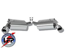 BORLA 11776 2010-2013 CHEVY CAMARO LS LT 3.6L V6 AXLE-BACK EXHAUST SYSTEM 11776