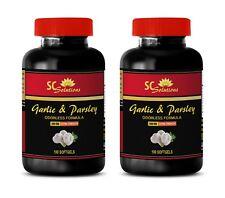 cholesterol care supplement - GARLIC & PARSLEY 600MG 2B - pills high blood press