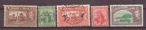 Trinidad & Tobago, Britannia & King George VI, 1921 - 1938, Used, OLD