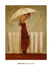 Promenade II - Mark Spain --Figurative, People and Potraits  Online Art Print Wa