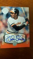 2004 JOHN SHELBY Auto  SP #228 UD Timeless Teams  Short Print  !