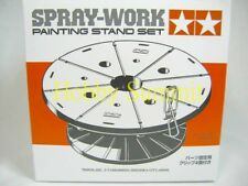 74522 Tamiya PAINTING STAND Set  Spray -Work  re  Airbrush  1/24 1/48 1/12 Paint