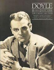 RARE - DOYLE ESTATE James Cagney Memorabilia Oscar Auction Catalog 2000