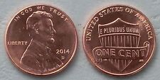 USA 1 Cent Lincoln 2014 D unz.