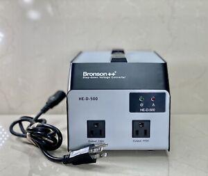 Bronson++ HE-U 500 Step Up Voltage Converter *