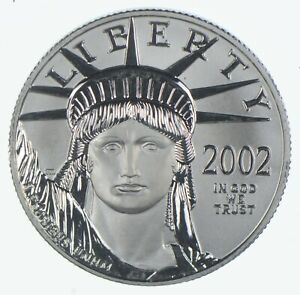 2002 $50 1/2 Oz. Platinum Eagle - U.S. Platinum Coin *018