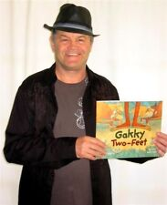 Micky Dolenz GAKKY TWO-FEET Children's Book SIGNED TO YOU! * THE MONKEES