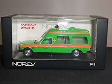 NOREV 351154 MERCEDES BENZ GREEN AMBULANCE AS8 DIECAST MODEL VAN