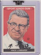 AWESOME 2008 SPORT KINGS VINCE LOMBARDI CARD #66 ~ GREEN BAY PACKERS LEGEND