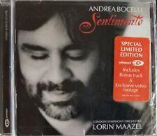 Andrea Bocelli - Sentimento (2002) LSO Lorin Maazel New, Sealed Limited Edition