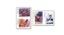 IRL0503 Painting - Women's Day 4 STAMPS MNH IRELAND 2005