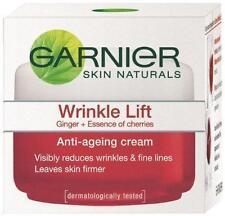 Original Garnier Skin Naturals Wrinkle Lift Anti-Ageing Cream-18g X 2