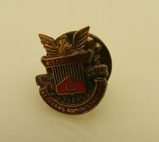 Vintage Veterans Administration Lapel Pin 15 Years