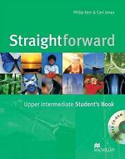 Straightforward Upper Intermediate: Student's Book Pack - New Book Jones, Ceri,K