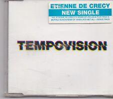 Etienne De Crecy-Tempovision  cd maxi single 5 tracks