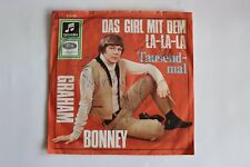 Single Graham Bonney Das Girl mit dem la la la / Tausendmal  7''  Germany sign.