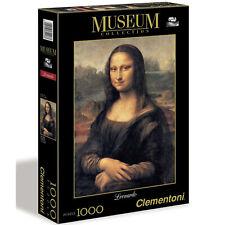 CLEMENTONI - PUZZLE 1000 PEZZI LEONARDO GIOCONDA 31413 MUSEUM COLLECTION