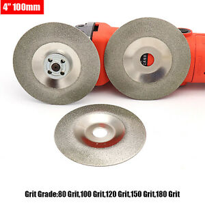 """4"""" 100mm Diamond Cutting Disc Cup Grinding Abrasive Wheel ,For Ceramic Glass"""