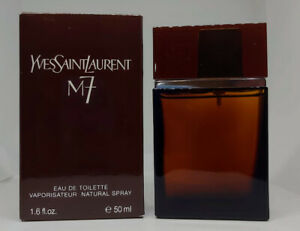 """❤️ Yves Saint Laurent, M7,FIRST VERSION,ONLY 4 INGREDIENTS,2002""""50ML 1.7OZ!☆☆☆☆☆"""
