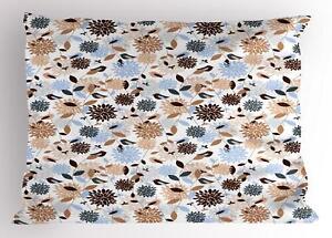 Earthy Tones Pillow Sham Decorative Pillowcase 3 Sizes Bedroom Decoration