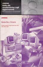 Manuali PC Compaq Presario serie 3000 - 4000 - 6000 - 8000 in italiano