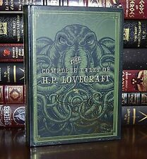 NEW Complete Tales Of H.P. Lovecraft Cthulhu Sealed Collectible Hardcover Gift