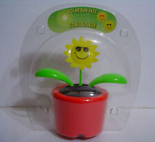 Solar Powered swaying Flower   New in package !