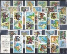 ASKEYS-FULL SET- PEOPLE AND PLACES (25 CARDS) - EXC+++