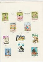 cambodia kampuchea 1984/85  stamps page ref 18363