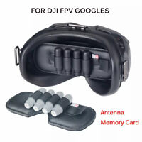 Dustproof Lens Protector for DJI FPV Goggles Antenna Memory Card Slot Holder
