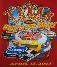 Texas Motor Speedway 2007 Large T Shirt Samsung 500 New Unworn NASCAR