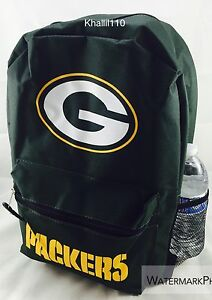 """NFL Green Bay Packers Southpaw 2018 Backpack 18""""x11"""""""