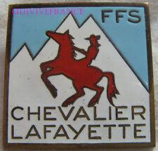 SK1544 -  INSIGNE badge ski COUPE DES GALERIES LAFAYETTE - TEST DE SLALOM GEANT