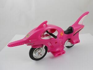 Mighty Morphin Power Rangers PINK Shark Cycle Motorcycle Bandai