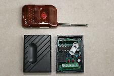 Interrupteur sans fil 1 canal contact momentané -12vDC