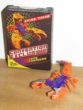 Keith's Fantasy Club Sting Thing Transforming Cassette NEW MISB LTD to 500! G2