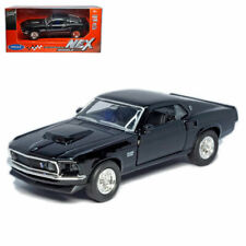 1:39 1969 Ford Mustang Boss 429 Model Car Diecast Toy Vehicle Collection Gift