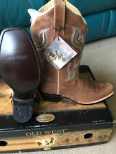 Womens Old West cowboy boots UK size 5 US Size 7