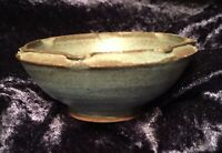 "Vintage ""Orkney"" Studio Pottery Small Bowl, Scotland."