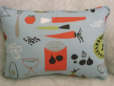 "CARROTS AND PEAS BY SCION OBLONG CUSHION 18"" X 12 ""(46 CM X 30CM)"