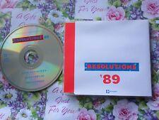Resolutions '89 Various Artists 3 track Promo  Phonogram – RESCD89 CD Single