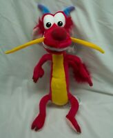 /'98 Disney MULAN Dragon 3 slightly move-able, MUSHU figure McDonalds/'s NMwpackaging