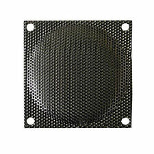 80mm Steel Mesh Fan Filter/Guard, Black