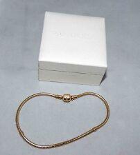 PANDORA Guaranteed Authentic 14KT Yellow Gold Charm Bracelet 22Gr Retail $3850