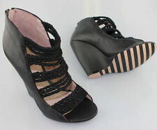 RMK Leather Mixed Shoes for Women