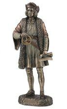 "10.25"" Christopher Columbus Standing Statue Figure Figurine Sculpture"