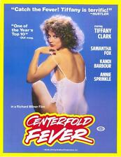 CENTERFOLD FEVER Movie POSTER 27x40 Samantha Fox Tiffany Clark Kandi Barbour Ron